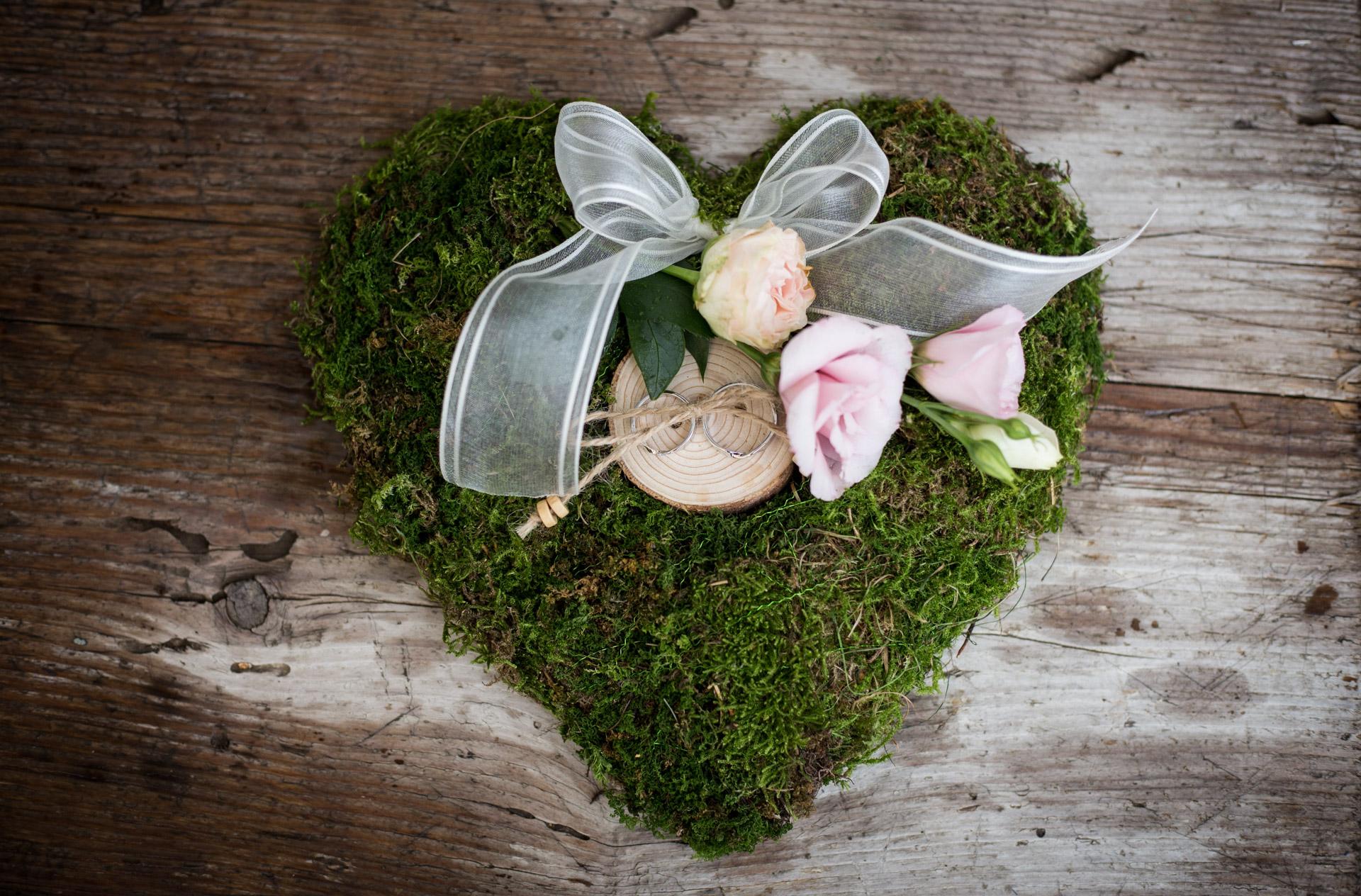 Svatební obřad a hostina v přírodě v Jižních Čechách - Marie a Martin