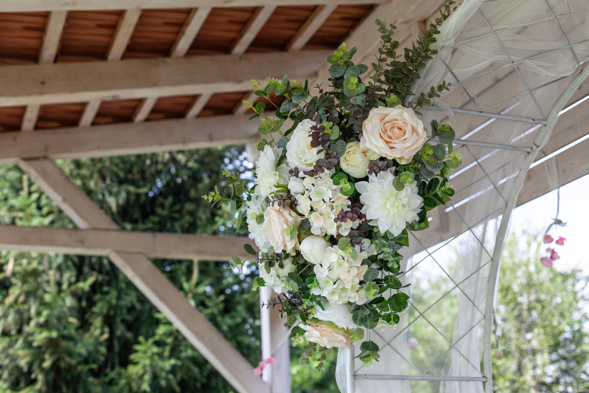 Svatba v přírodě - ukázkový svatební den